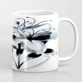 Abstract Flowers Coffee Mug