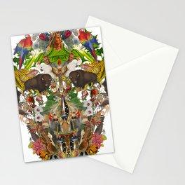 Acient Skull Stationery Cards