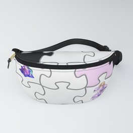 puzzle pattern -2- Fanny Pack