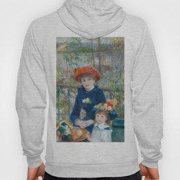 """Pierre Auguste Renoir """"Two Sisters"""" Hoody"""