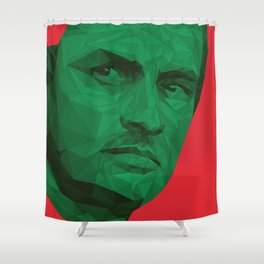 Jose Mourinho / Portugal – Poly Shower Curtain
