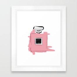Pink perfume #6 Framed Art Print