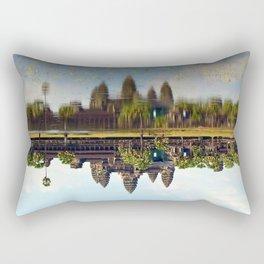 Cambodia Angkor Rectangular Pillow