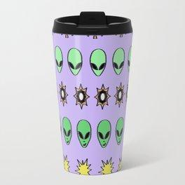 Alien hieroglyph Travel Mug