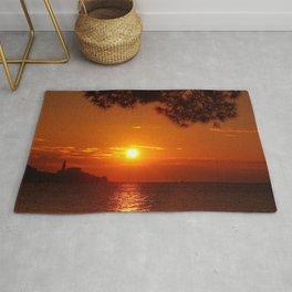 Sun and sea Rug