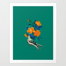 Autumnal Rose Art Print