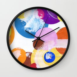 Bubbles N.o 2 Wall Clock