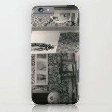 Hanging a painting fail - tim burton iPhone 6s Slim Case