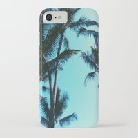 palm trees iPhone & iPod Cases featuring Palm Trees by Alexandra Str
