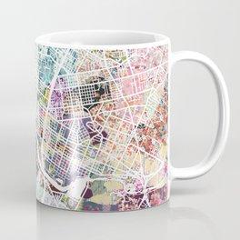 Austin map - Portrait Coffee Mug