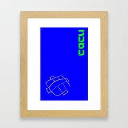 Furi kuri - la gota Framed Art Print