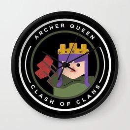 Archer Queen Wall Clock