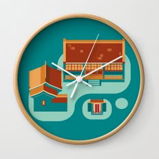 beijing icon Wall Clock