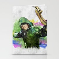 arrow Stationery Cards featuring arrow by evenstarss