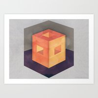 pixel Art Prints featuring Pixel by Camilo Bejarano