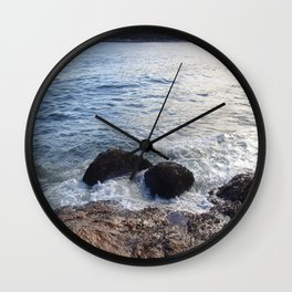 Don't Slip Wall Clock
