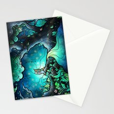 Love goes on and on Stationery Cards