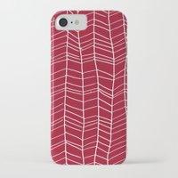 herringbone iPhone & iPod Cases featuring Herringbone  by Rachelmel1