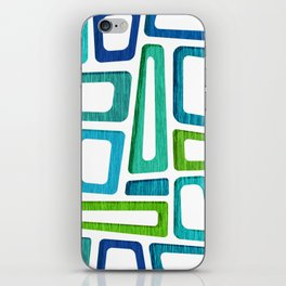 Mid Century Boxy Abstract iPhone Skin