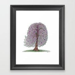 A tree of legend Framed Art Print