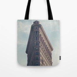 Flat Flat Iron - NYC Tote Bag