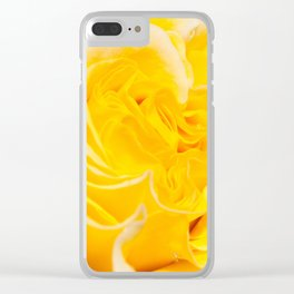 A Touch of Yellow #Rose #1 #art #society6 Clear iPhone Case