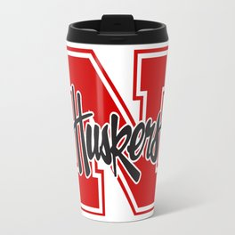 Huskers! Travel Mug