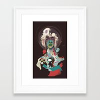 broken Framed Art Prints featuring broken by Thiago Souto