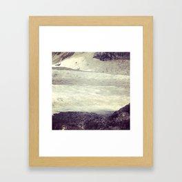 Dying winter in MTL Framed Art Print