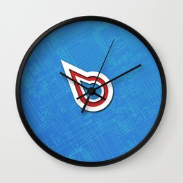 Hexonai Wall Clock