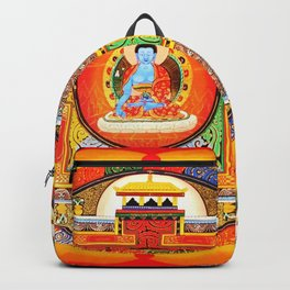 Buddhist Healing Mandala Backpack