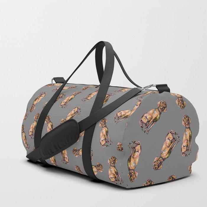 Hungarian Vizsla Dog Duffle Bag
