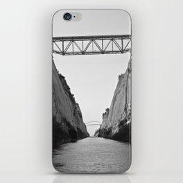 Corinth Canal iPhone Skin