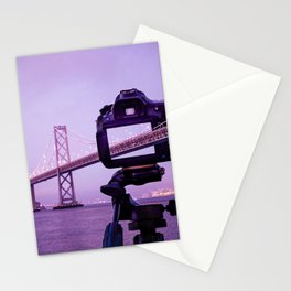Bay Bridge Capture Stationery Cards