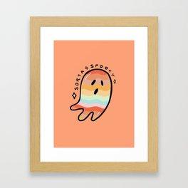 Rainbow Sorta Spooky © Framed Art Print