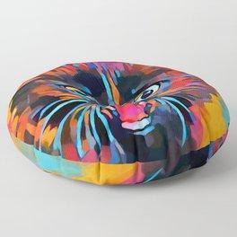 Fierce Kitty Floor Pillow