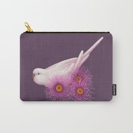 White Budgerigar Carry-All Pouch