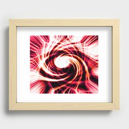 Eye Of Fire Recessed Framed Print
