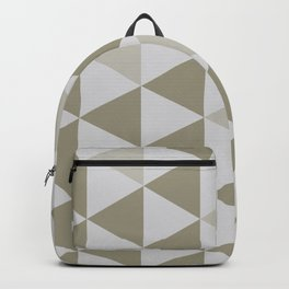 Great Triangle Pattern Backpack