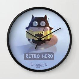 Retro Hero Wall Clock