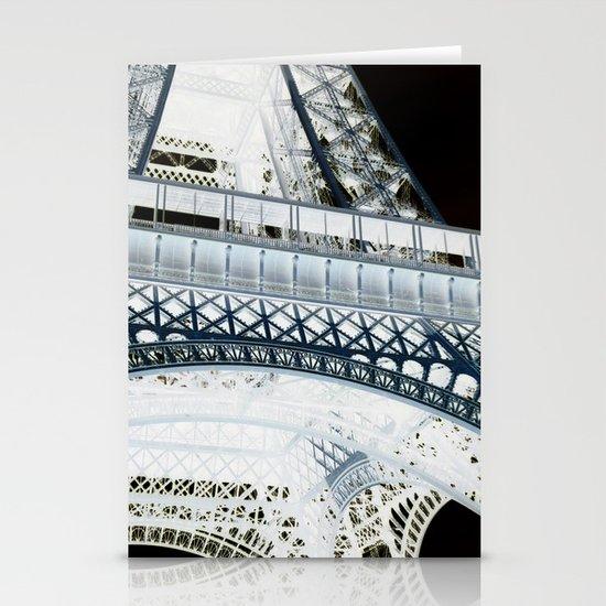 Eiffel effect Stationery Cards