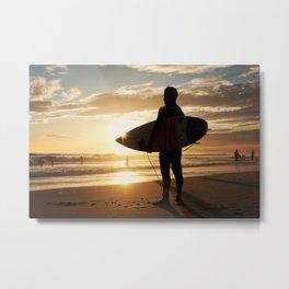 Surfer's View Metal Print