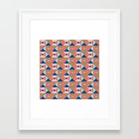 bands Framed Art Prints featuring Tribal Bands by My Fashionation