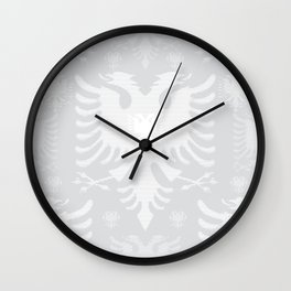 Eagles / Paterns / Creation / Composition VII Wall Clock