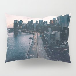 The New York City Skyline Pillow Sham
