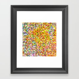 color space Framed Art Print