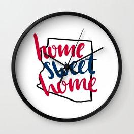 Home Sweet Home-U of Arizona Wall Clock
