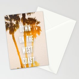 WEST COAST Stationery Cards