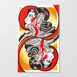 Sanguis Regina Canvas Print