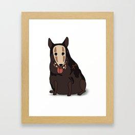 Ghost dog Framed Art Print